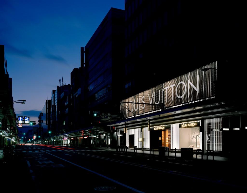 LOUIS VUITTON 京都大丸店 / Works写真0