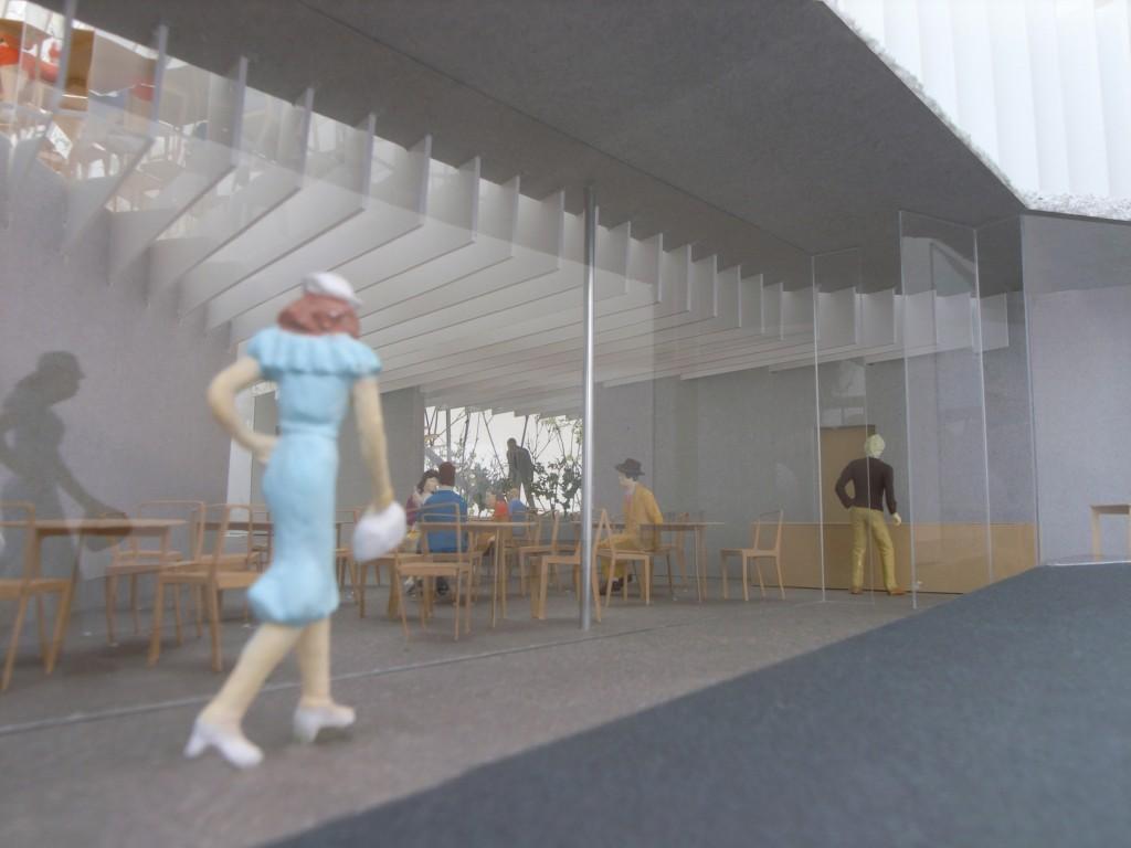 Sayama graveyard rest station Competition / Works写真1