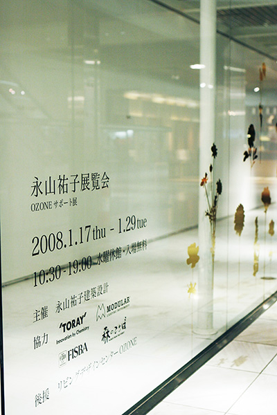 "Exhibition ""Yuko Nagayama""-place that does not reach / Works写真6"